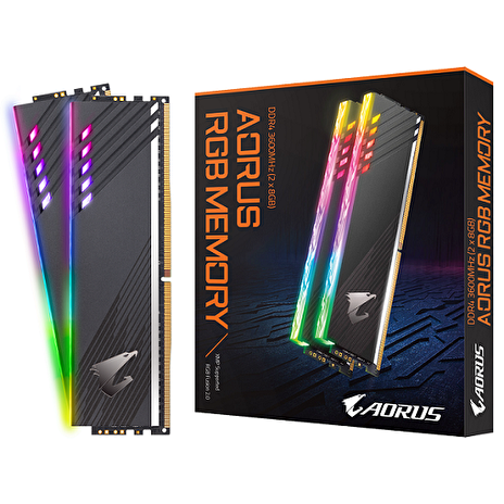 GIGABYTE AORUS 16GB DDR4 3600MH RGB kit 2x8GB