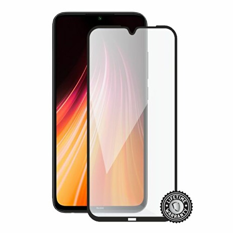 Screenshield XIAOMI Redmi Note 8T Tempered Glass protection (full COVER black)