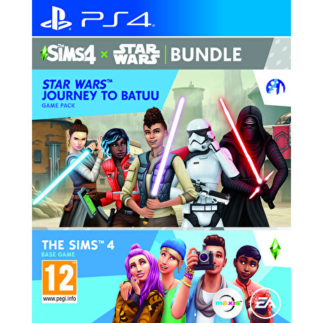 PS4 - The Sims 4 + Star Wars - bundle