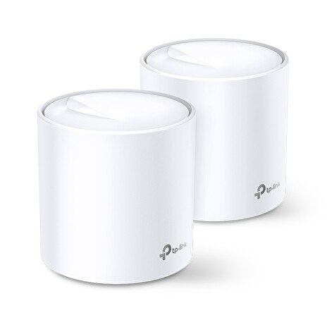 TP-Link AX3000 Smart Home Mesh WiFi6 Deco System X60(2-pack)
