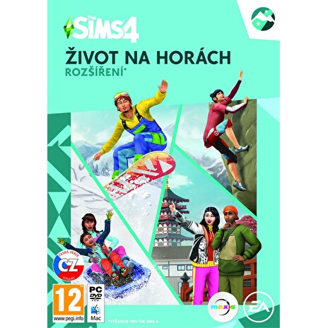 PC - The Sims 4 - Život na horách ( EP10 )