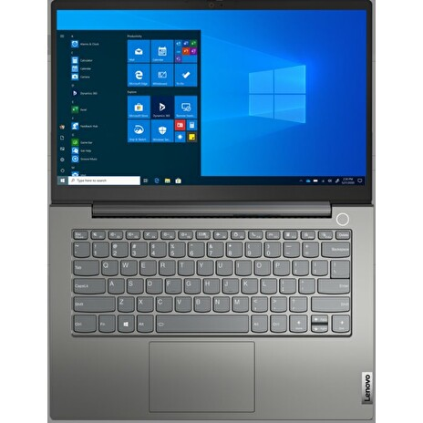 "Lenovo ThinkBook14 G2 ARE/RYZEN 5 4600U/8GB/256GB M.2 SSD + M.2 SSD slot/Radeon Graphics/14"" FHD matný/Win10 Pro/šedý"